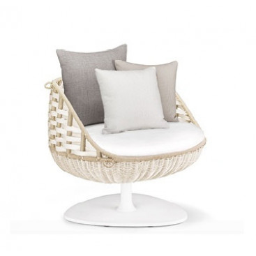 DEDON SWINGREST Lounge chair, 360° drehbar