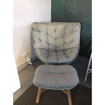 DEDON MBrace Wing Chair