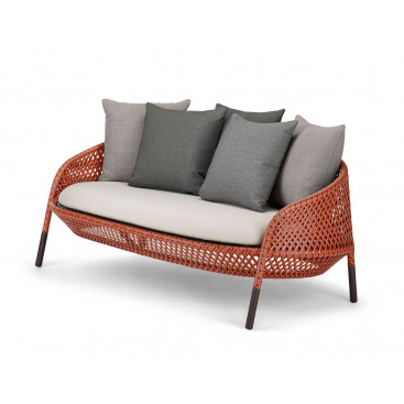DEDON AHNDA 2er-Sofa - Outdoor Loungesofa