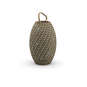 DEDON DALA Laterne ø 41 cm • Kollektion Latern & Planter