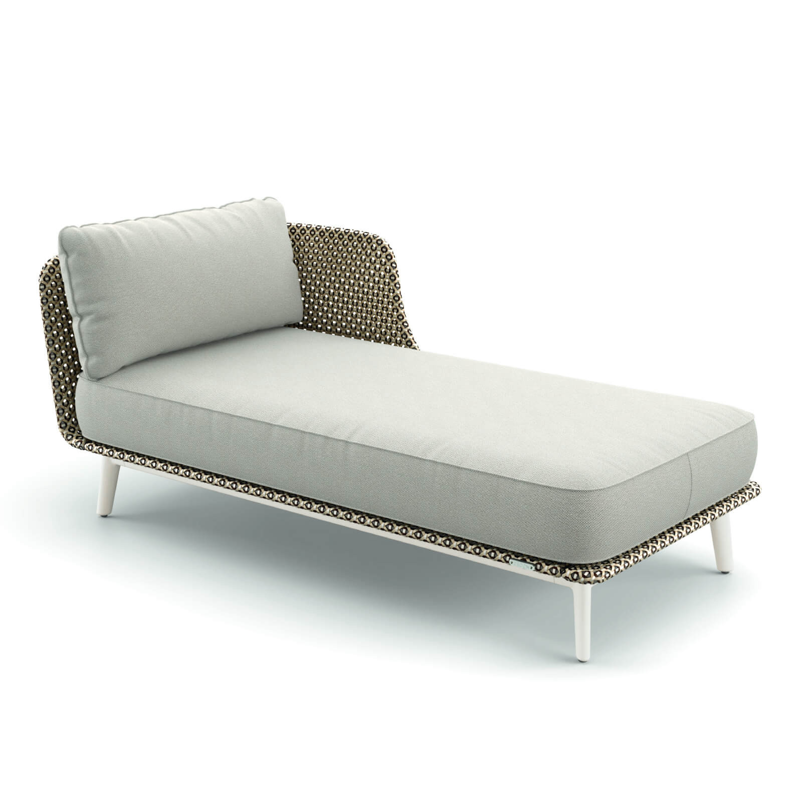 DEDON MBARQ Daybed links 304 lipari mit 115 pepper