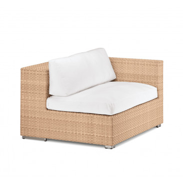 DEDON LOUNGE modulierbares Sofa, Modul links